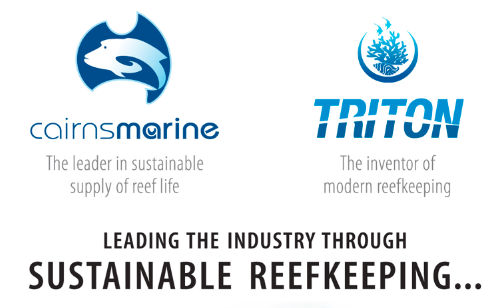 Cairns Marine - Triton: Leading the industry through sustainable reefkeeping.